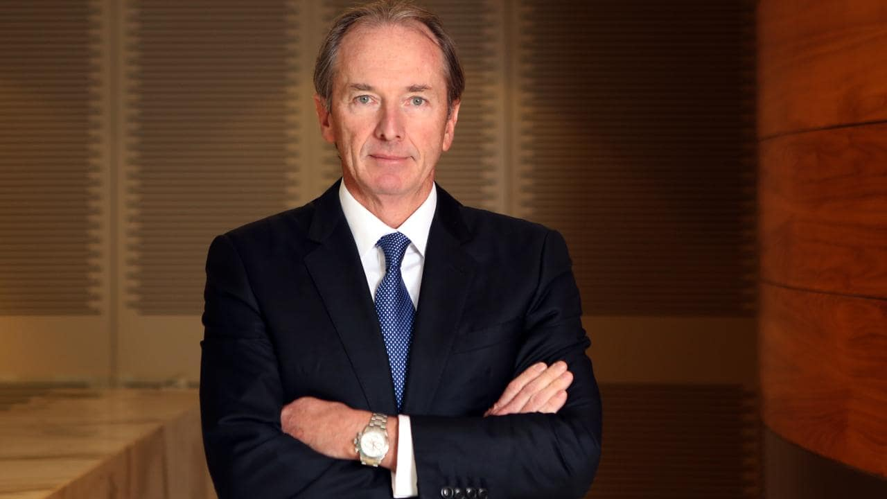Morgan Stanley chief executive James Gorman